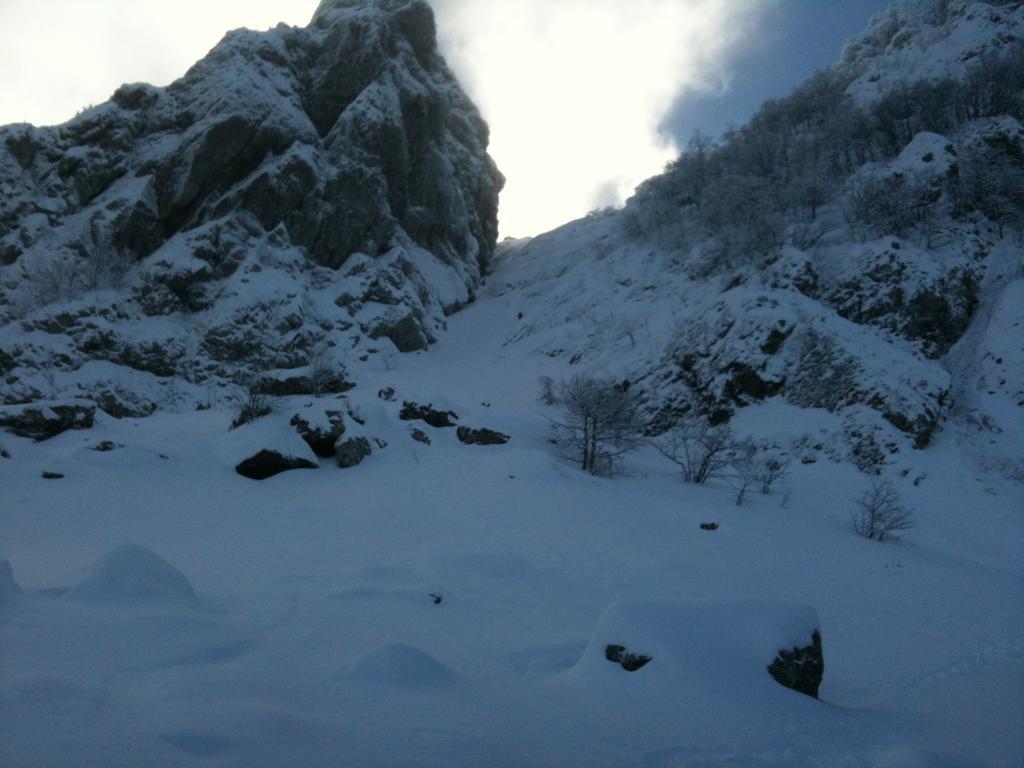 Penna (Monte) Canale Nord e Cresta ENE 2013-01-26