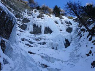 condizioni della parte destra di pineta nord, il 26 gennaio 2013