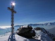 giochi di luce di corrado sulla croce d'Arbella
