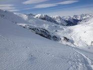 Vista verso il Col Chabaud