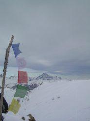 Dalla cima del Giobert vista verso il Monviso.