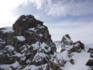 rocca del Nigro in 1° piano e la Niera sullo sfondo