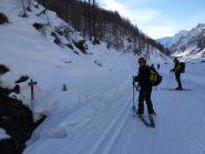 Alla sorgente Lendiniere, bivio per il Monte Pelato