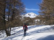 al centro il monte Bertrand