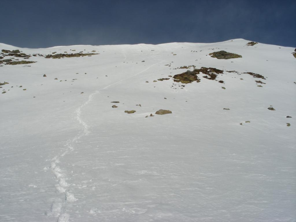 Garitta Nuova (Testa di) e Monte Riba del Gias da Becetto 2013-02-01