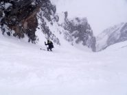 in piena nevicata