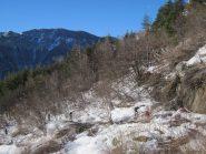 inizio boschina e attraversamento rio
