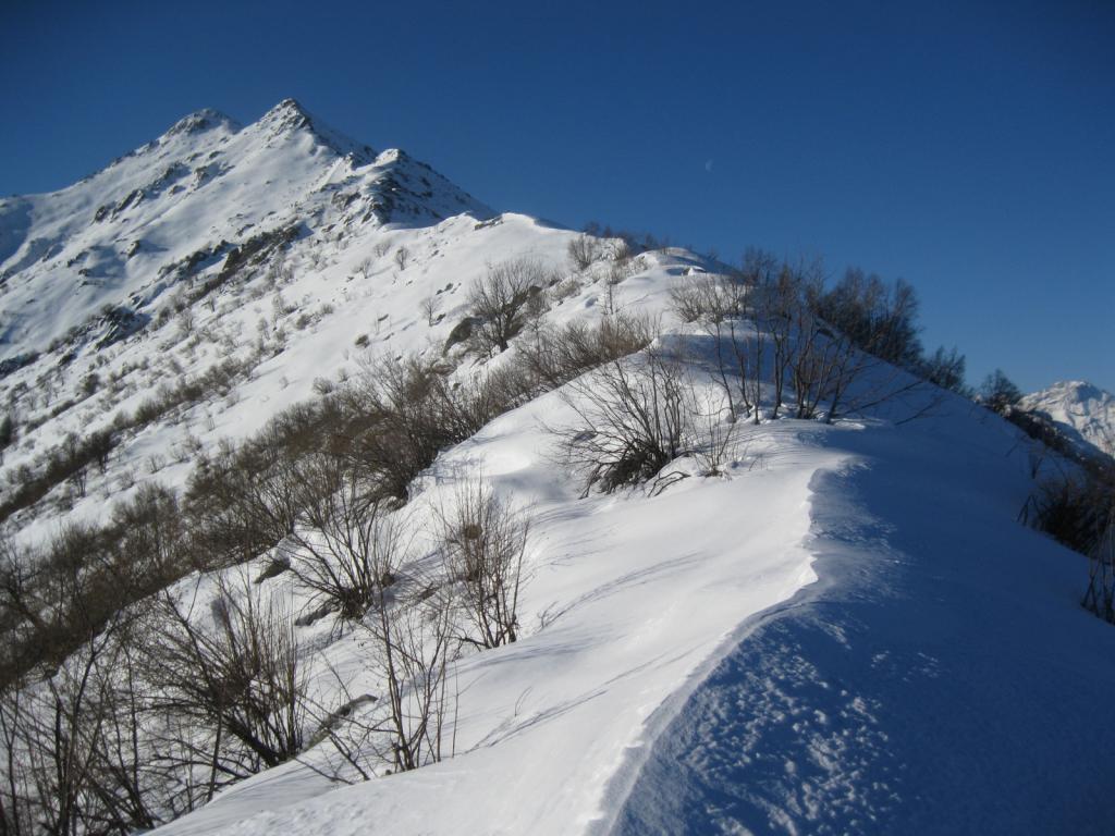 Gorre (Testa delle) da Meschie per sella Artondu' 2013-02-03