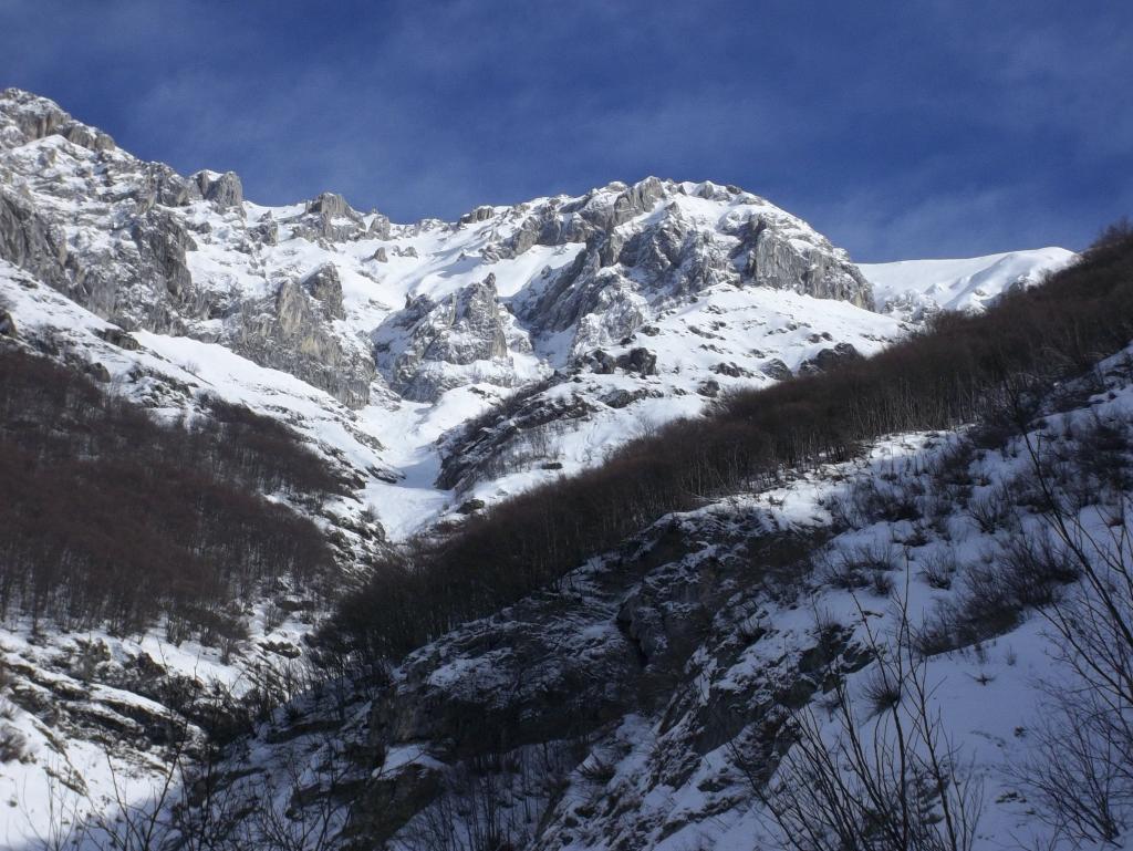 Orel (Rocca d') Scivolo Ovest 2013-02-03