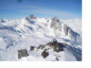 La Tete de la Cassille e a dx la Crete du Queyrellin dalla Crete du Raisin (2832m)