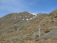 Monte Gregorio e bivio per Le Colme