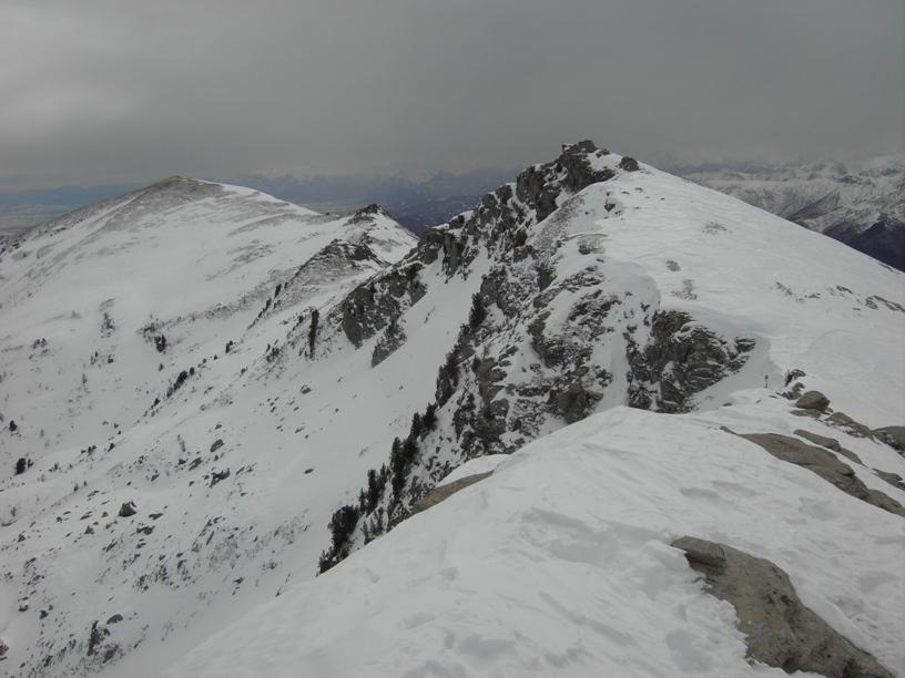 La cresta verso il Cugulet.
