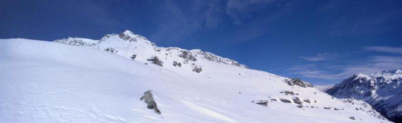 panorama verso le baite dell'alpe...