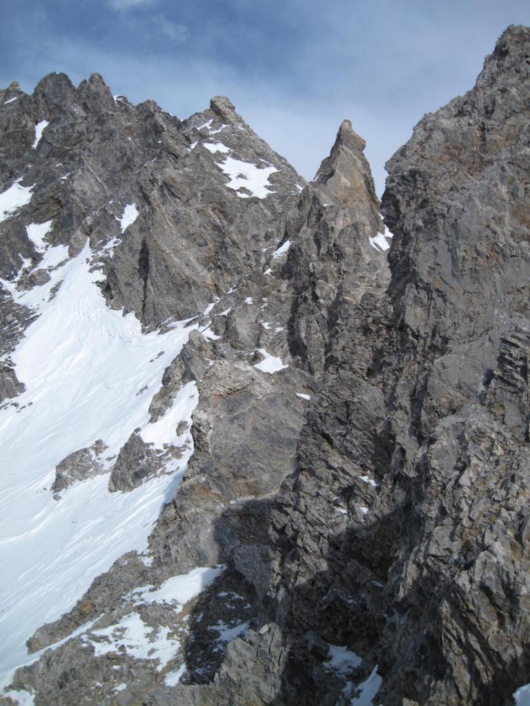 cresta di fianco al Colletto