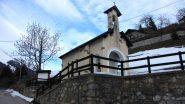 la chiesetta di San Giacomo, punto di partenza (9-2-2013)
