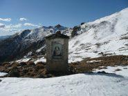 Pilone presso gli alpeggi alti