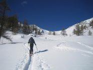 in fondo il Col de Trempa-Laz 2537 m.