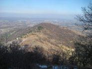 il monte Calvo dall'alto