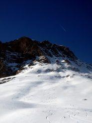 Grazie Pelvo!  Una montagna simbolo, che osservo dalla pianura, da casa, e dal  lavoro. Oggi, un ricordo indelebile!