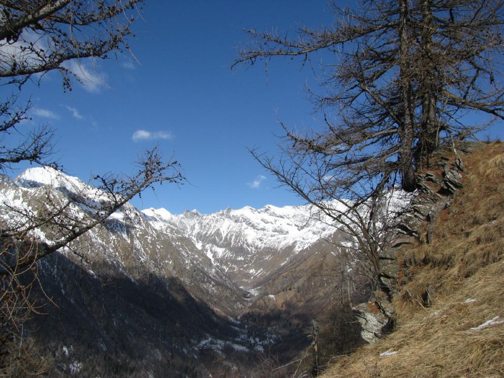 Panorama sul fondovalle
