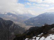 04 - Da S.Evence vista dall'alto su Chatillon e S.Vincent