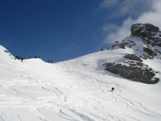 Prime curve in farina dal Passo di San Giacomo