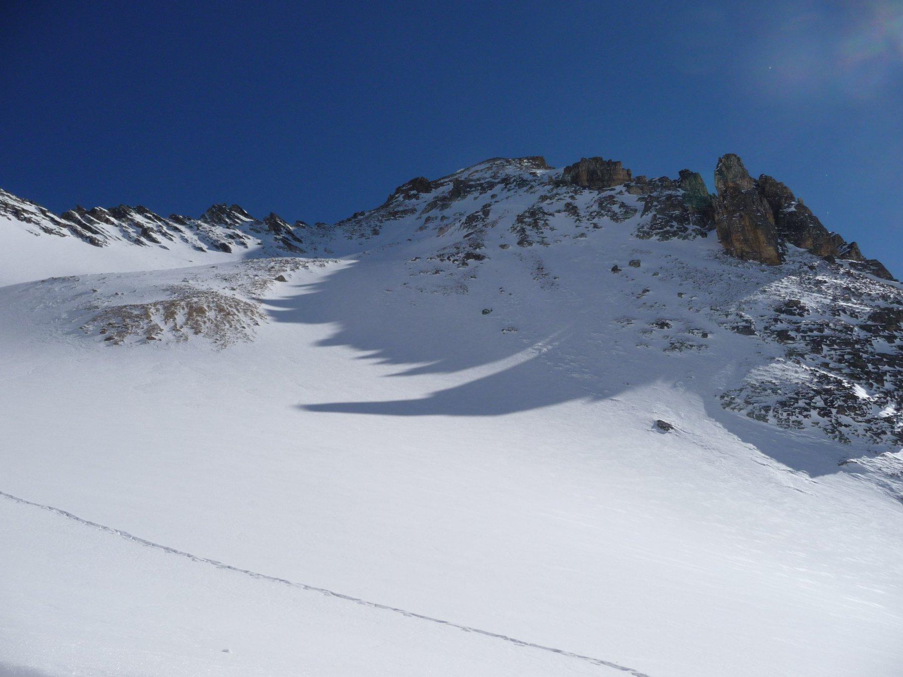 Cassille (Tete de la) versante SE- Canale Chantriaux-Paret 2013-02-19