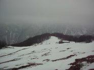 Tempo uggioso all' alpe d'Attia