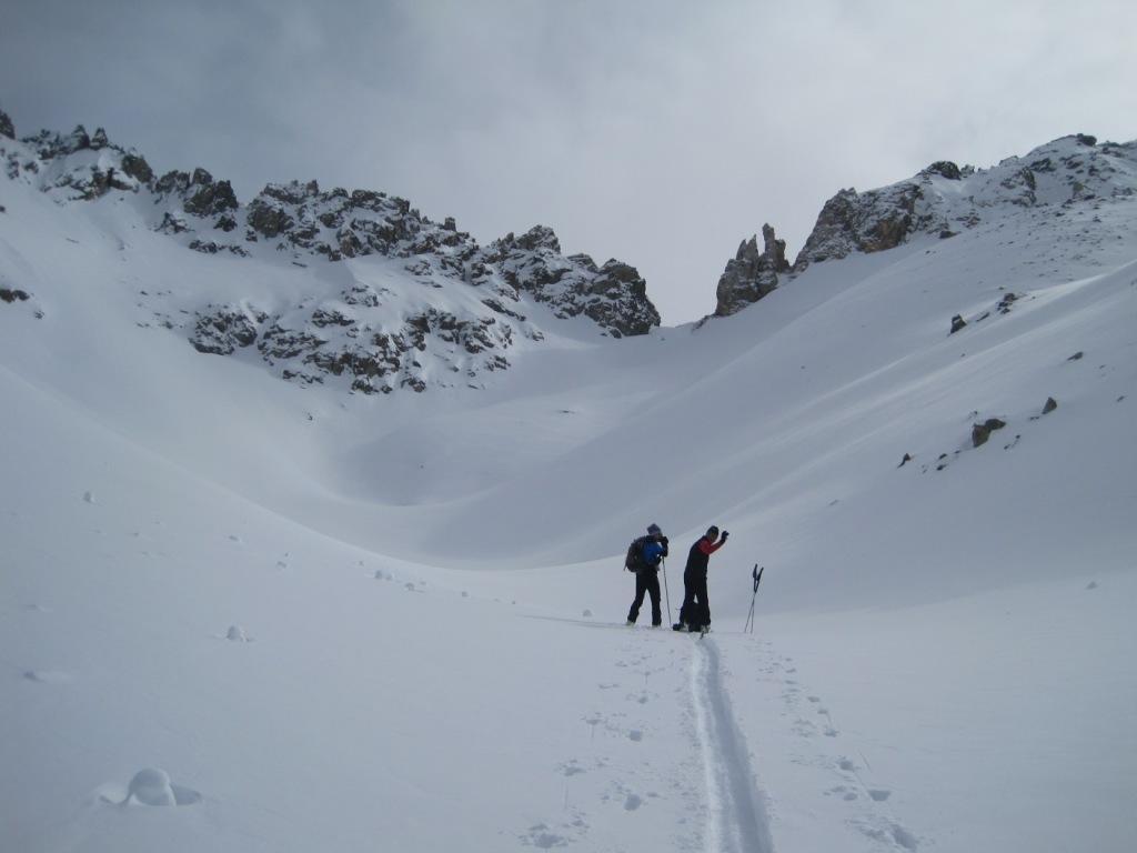 In vista del Colle di Montagnaya