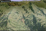 area valanghe a lastroni provocate (giallo recente, rosa di qualche anno fa)