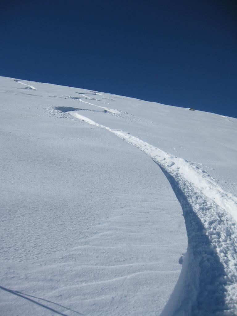 ottima neve in alto