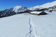 Alpeggio di Mezan ancora sommerso dalla neve! (2-3-2013)