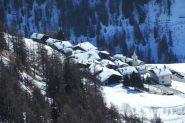 Mandriou vista dall'Alpeggio di Mezan (2-3-2013)