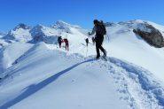 salendo la cresta SE del Facciabella...01 (2-3-2013)