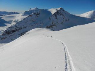 Arbola e Punta dei Sabbioni salendo al Blinnenhorn