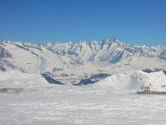 Aletschgletscher visto dalla cima