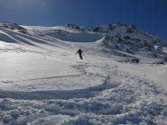 Verso lo scavalco Lac Blanc