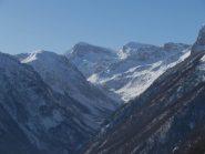 vista sull'alta Valle Ellero
