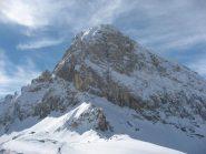 la mole della Rocca la Meja dalla cresta