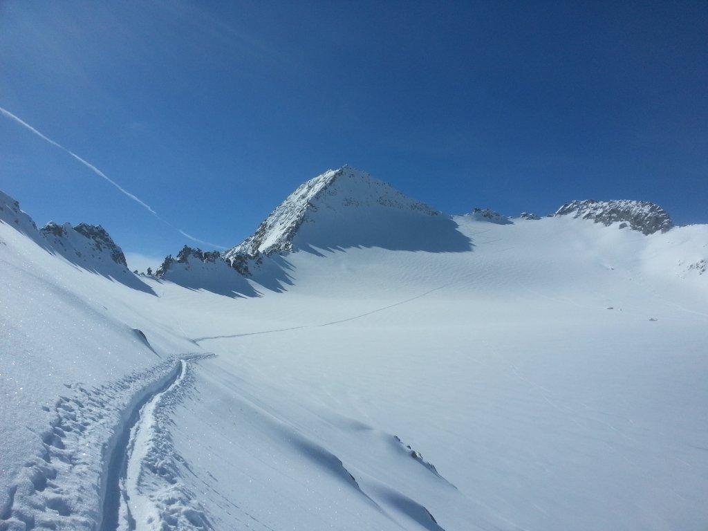 Attraversamento e risalita del ghiacciaio