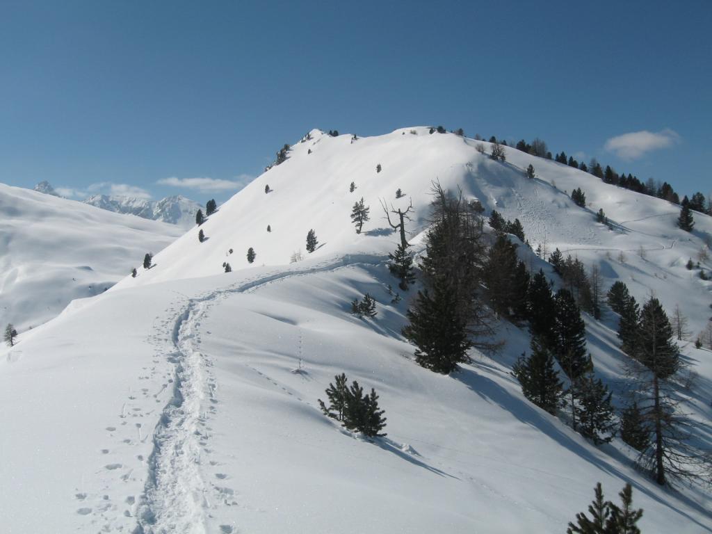 Begino (Monte) da Bousson per il Lago Nero 2013-03-14