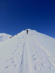Salendo la cresta del Truc
