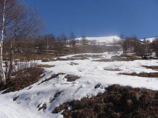 poca neve in basso