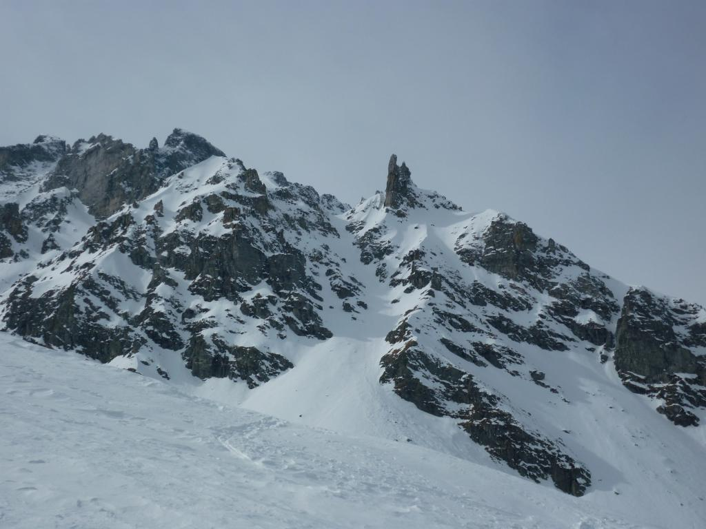 Caldaie (Punta delle) da Alpe Devero, Canale NEE dal Passo dei Fornaletti 2013-03-16