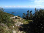 Monte Bignone piazzola tedesca che domina il golfo di Alassio