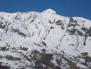 panoramica sul versante Montù