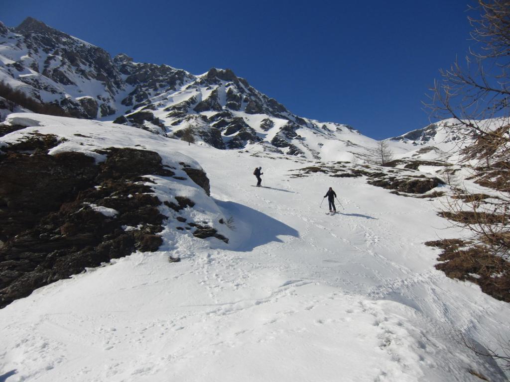 Nera (Punta) o l'Argentier dal Vallone del Frejus 2013-03-16