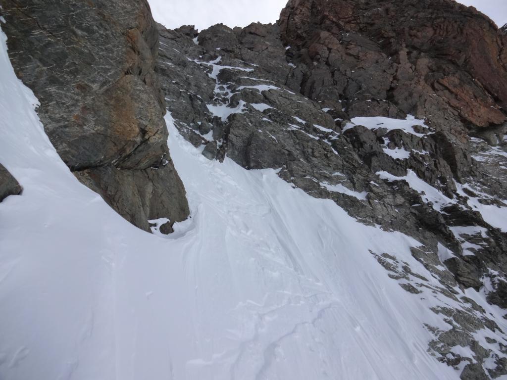 prime curve delicate, poca neve su fondo duro