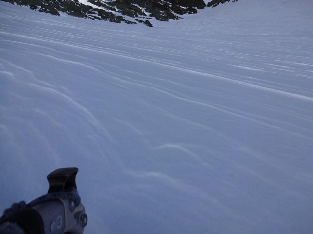 giochi di neve sul Ghiacciaio delTriangolo