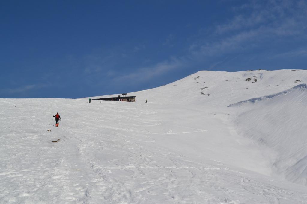 salendo alla Baita Alta (1631 m)